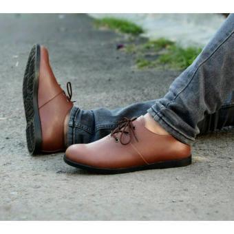 Gambar Sepatu Pria Brodo Casual Slip On made original MADE brodlow ( coklat  ) 24dc804ea3