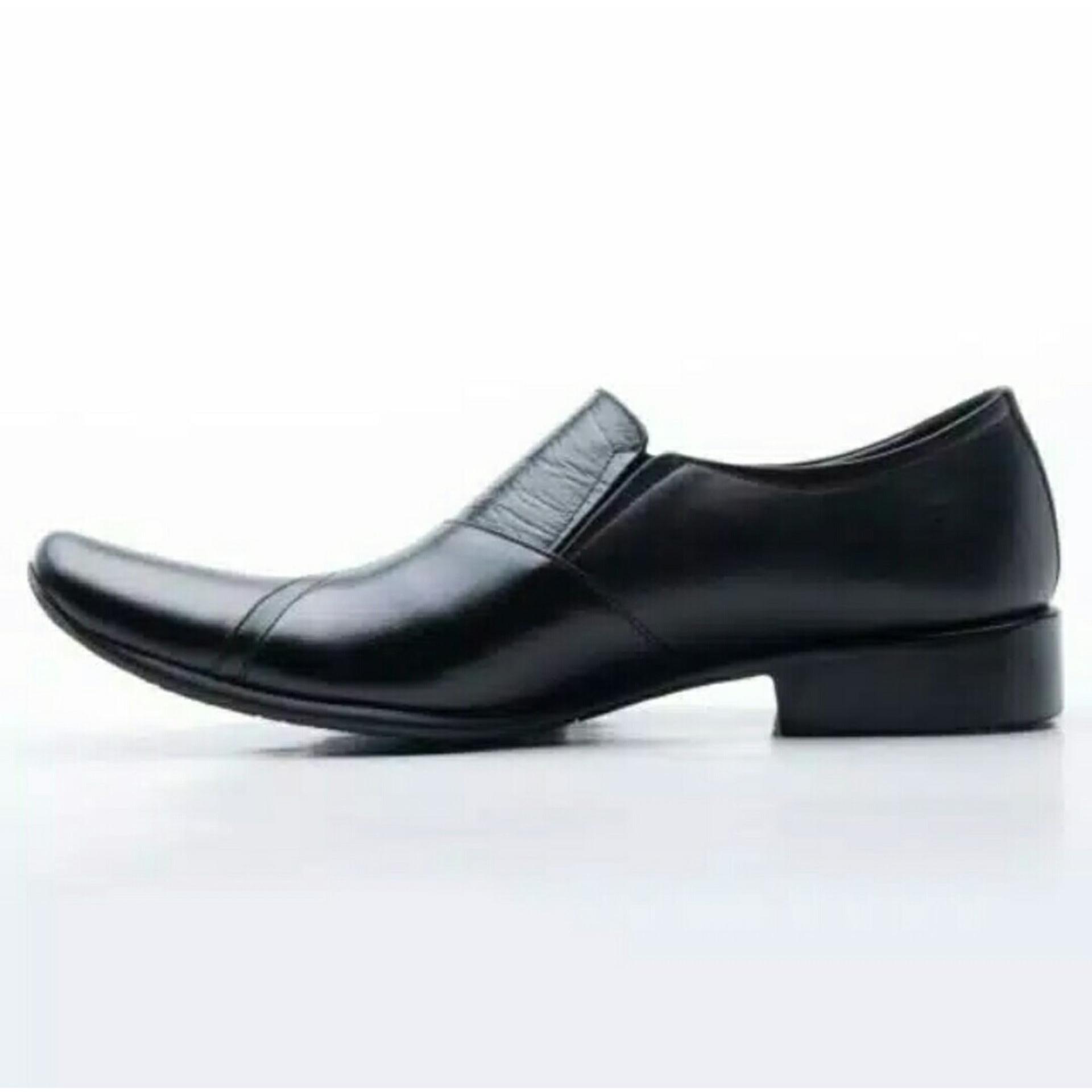 Sepatu Pria Pantofel Formal Kerja Kulit Asli Berkualitas Cepc Cocoes Model Lv 076 Ht