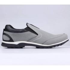 Sepatu Pria sneaker Slip On Casual & Formal Pantofel Kulit Synth SD8