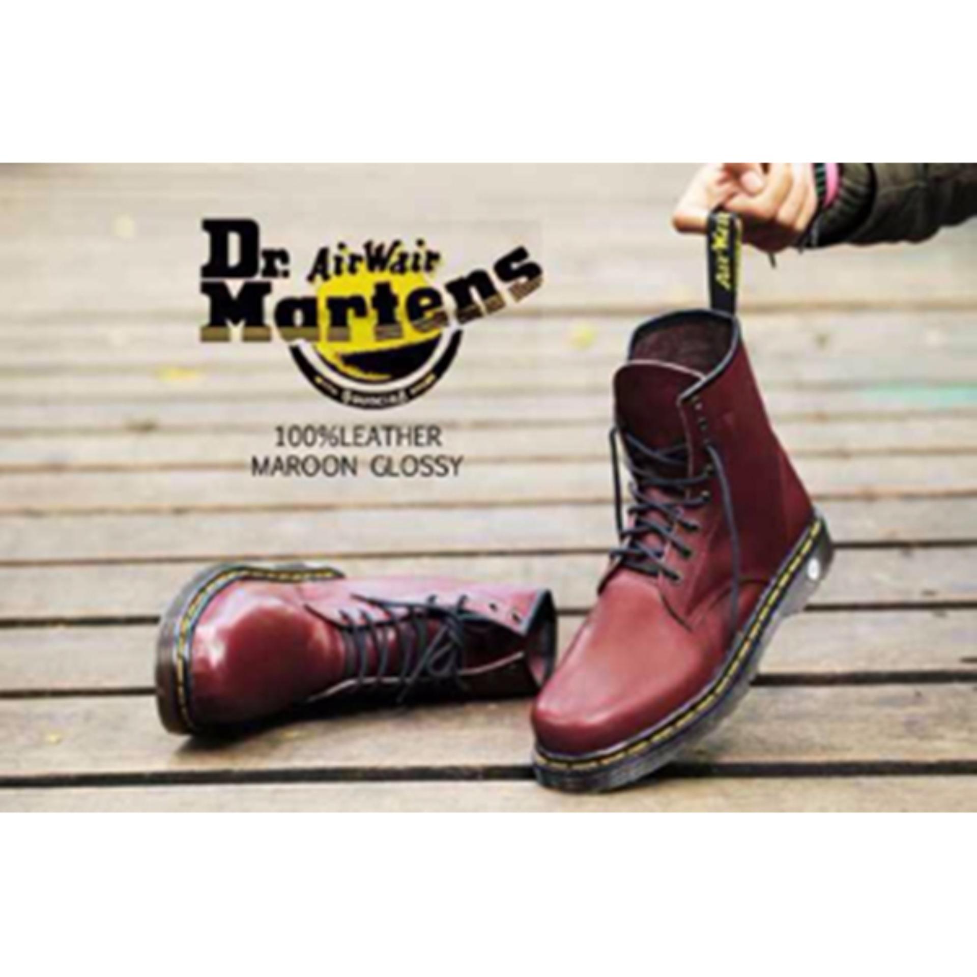 Jual Beli Sepatu Pria Wanita Unisex Type Docmart Merah Maroon Bata Sandal Keren Coklat 871 4810