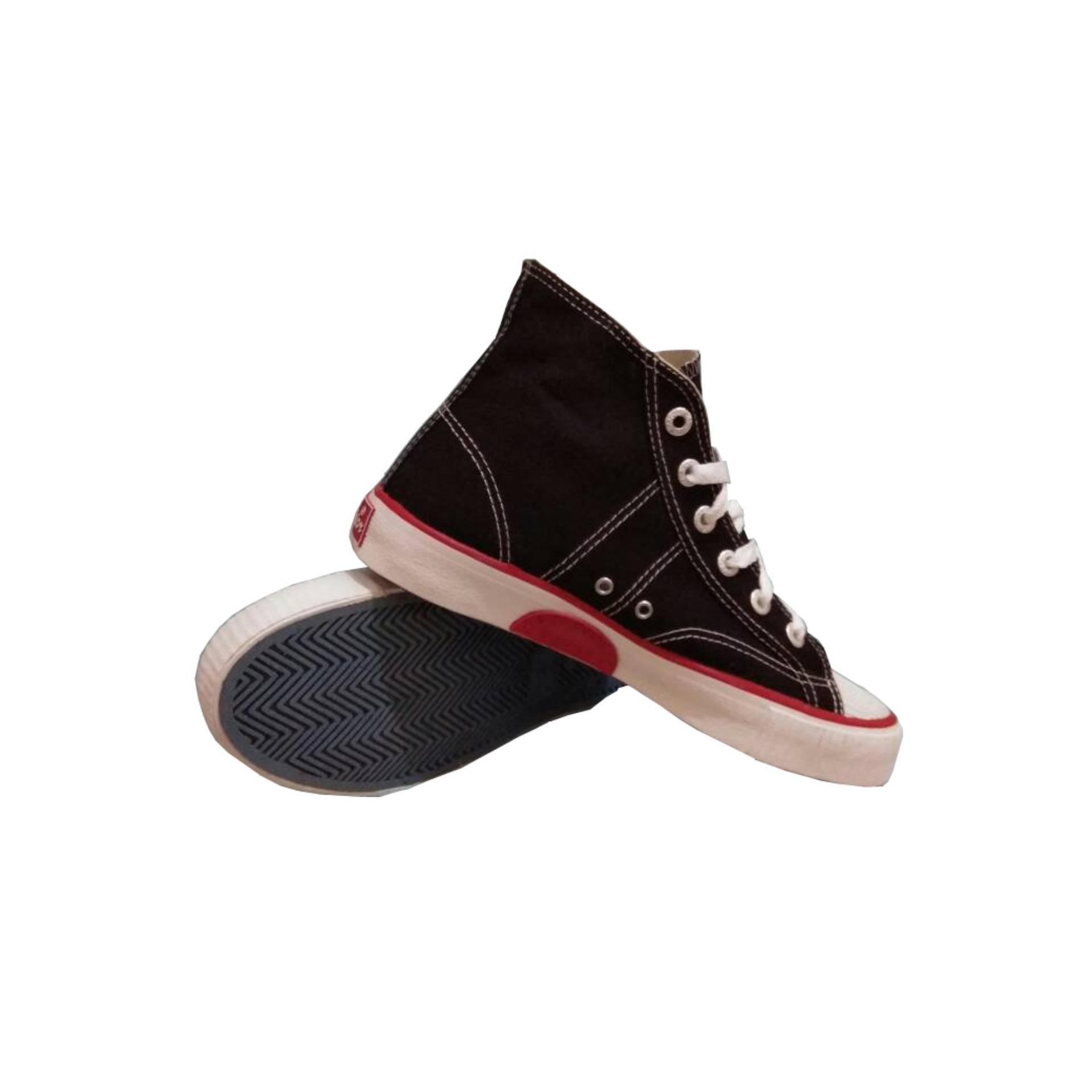Sepatu Sekolah Warrior Athena High Cut Hitammerah Daftar Update Sparta Hitam Merah Harga Source Sneaker Classic Putih
