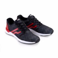 Sepatu Sneakers Piero Razr - Hitam