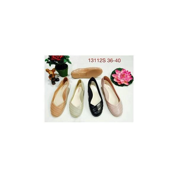 Flash Sale Sepatu Teplek Flat Shoes Wanita Cewe Karet Bara Barabara