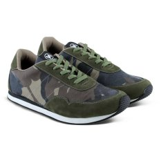 Sepatu VDB 432 Sepatu Sneakers Kets dan Kasual Anak bisa untuk Sekolah dan Olahraga - Army