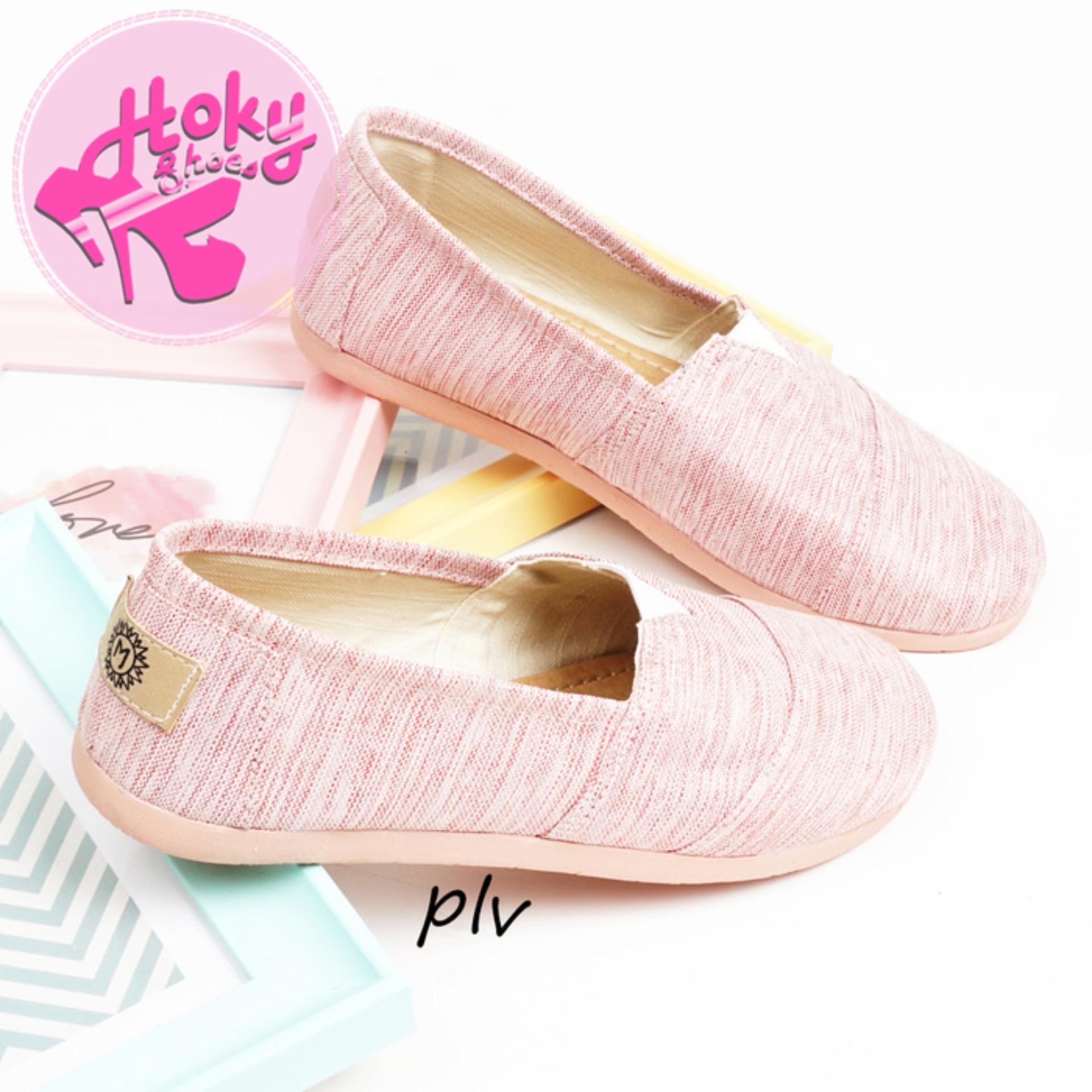 Sepatu Flat Shoes Flatshoes Murah Ala Wakai Ns55 Navy Update Mikkusu Maroon Grey Black Slip On Wak0002551zz895 Hitam 36 Wanita Kanvas Hs55 Abu