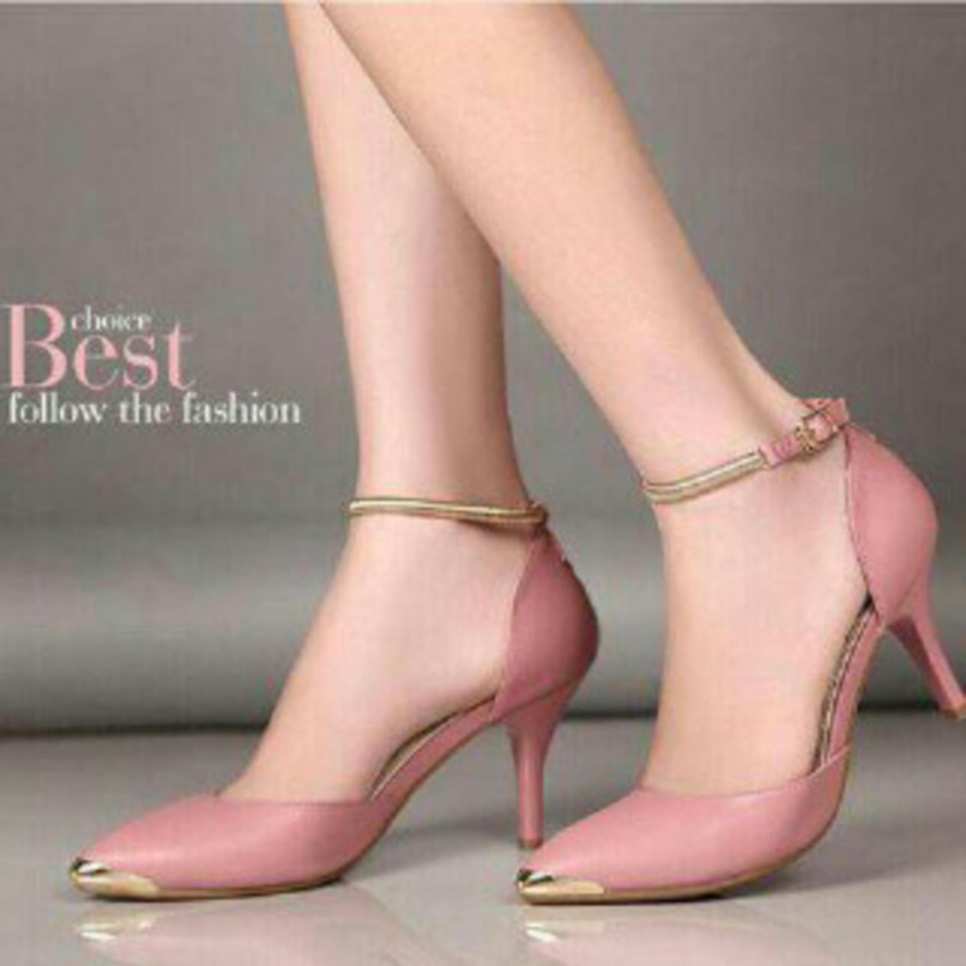 Flash Sale Sepatu Wanita Heels Salem