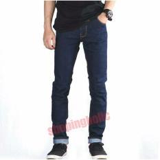 SH BLACKFIELD Celana jeans pria model skiny jeans pria - ( Biru Garment)