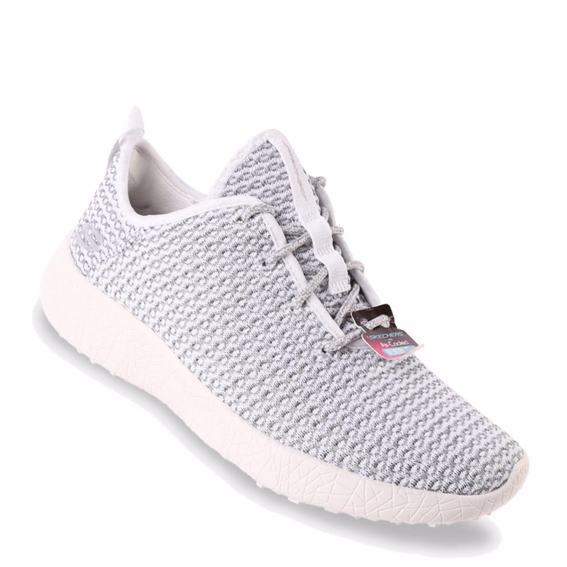 Skechers Gratis Sleek And Chic Sepatu Wanita Abu Abu - Daftar Harga ... 5484da3a36