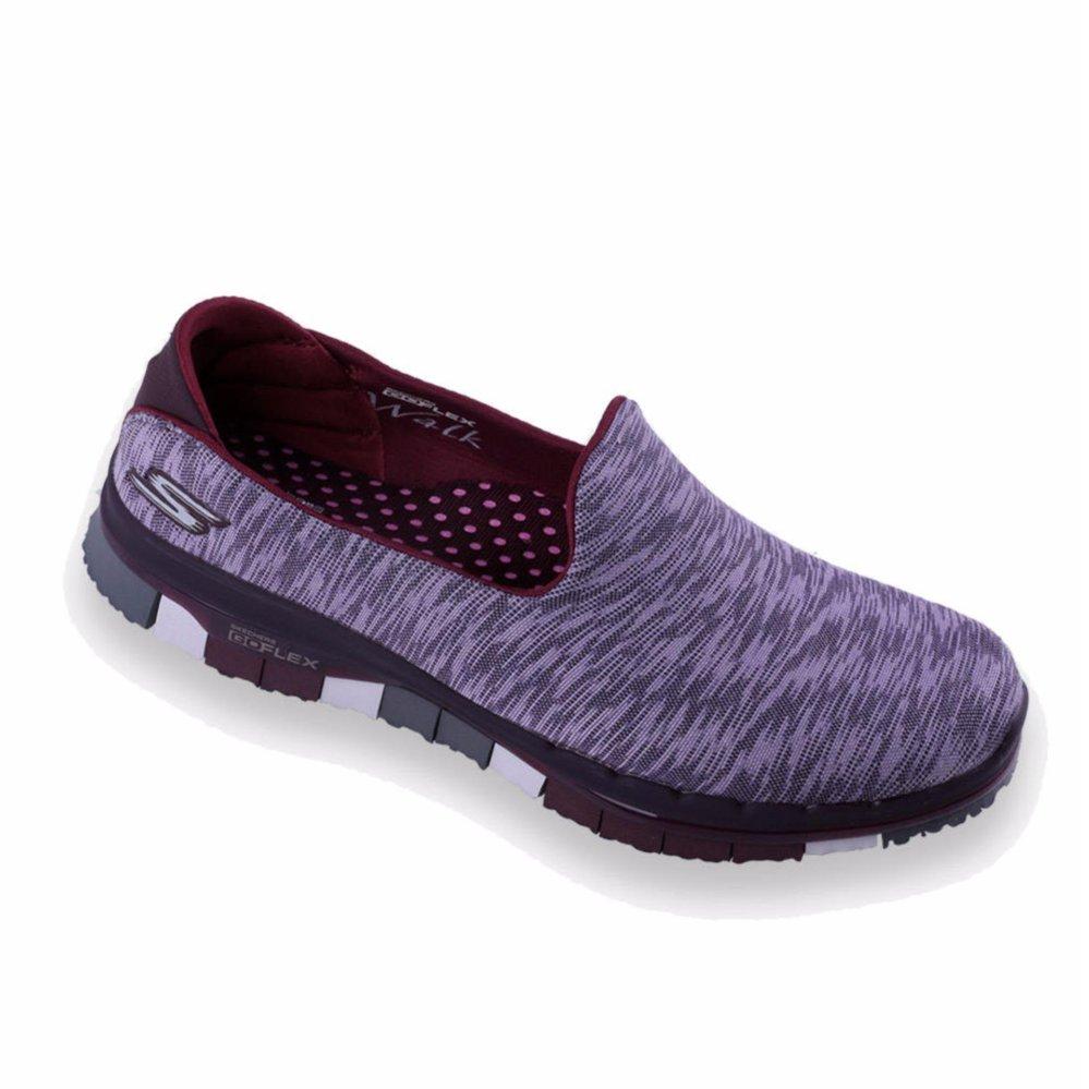 Belanja murah Skechers GO FLEX Walk - Ability - Sepatu Wanita - Abu ... a686ce3bab
