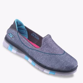 Jual Skechers Go Flex Walk Girls Shoes - Multicolor Murah
