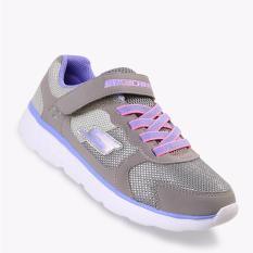 Skechers Gorun 400 - Sparkle Sprinters Girl's Running Shoes - Abu-Abu