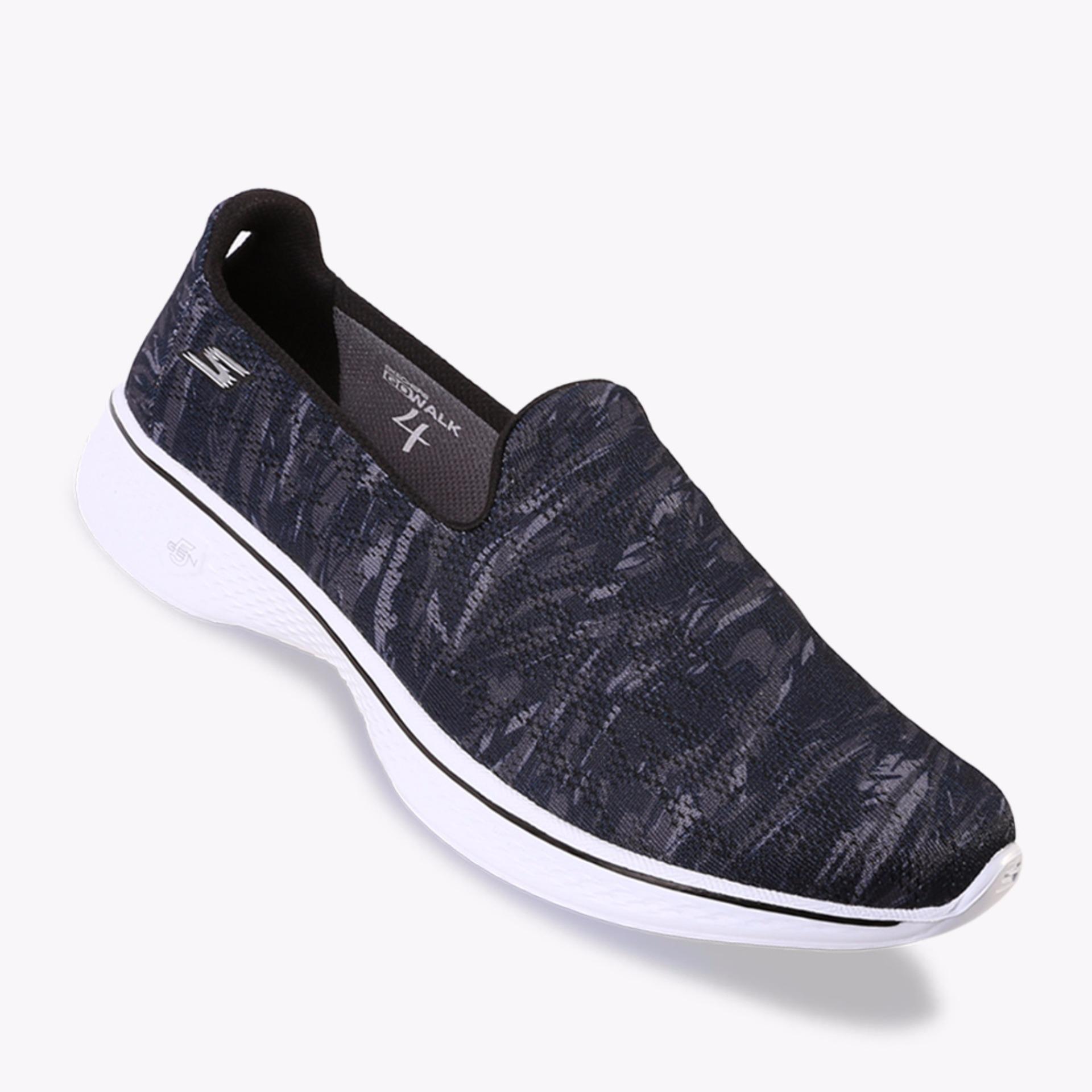 ... Skechers Gowalk 4 - Electrify - Biru Tua ...