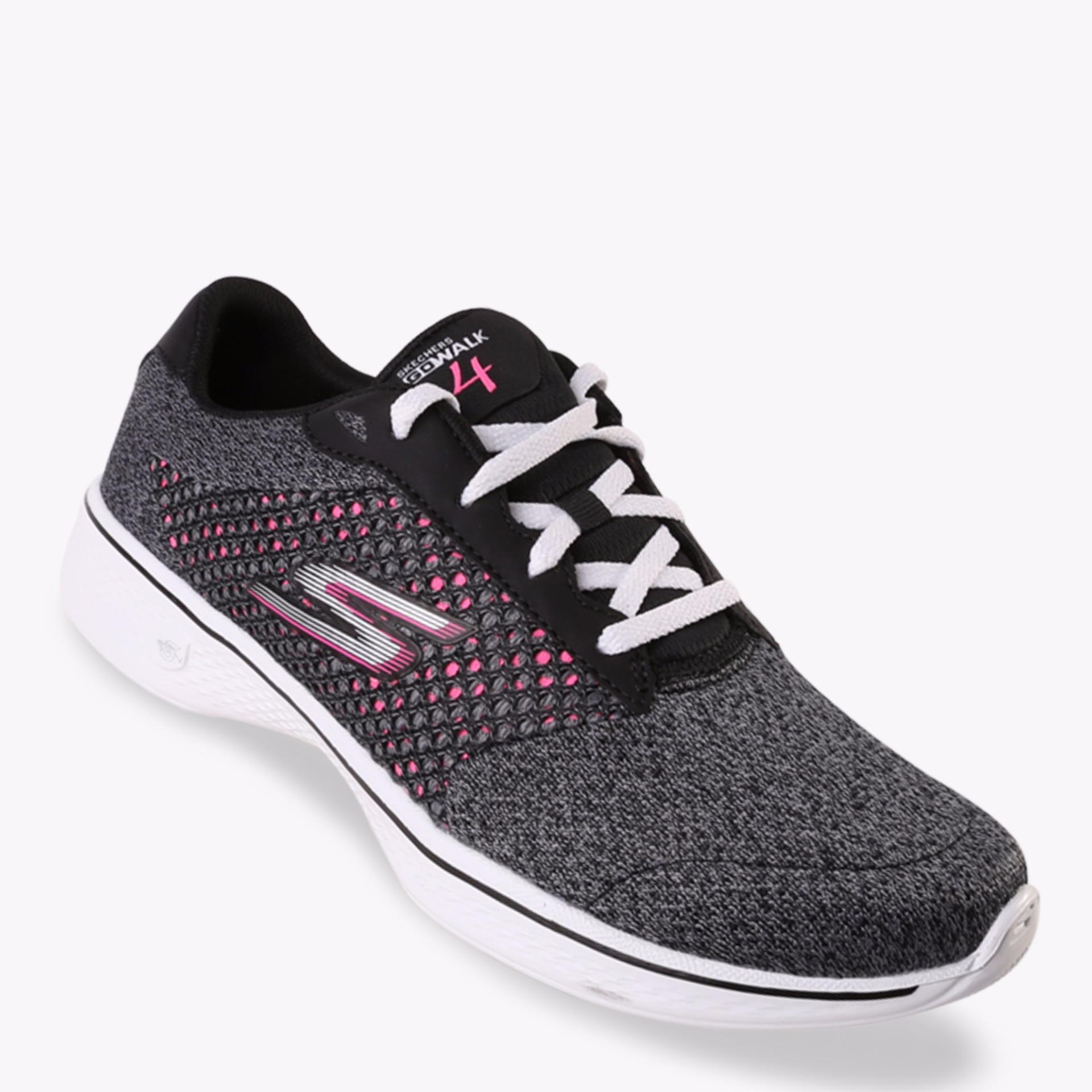 Skechers Gowalk 3 Womens Sneakers Hitam - Daftar Harga Terbaru dan ... fe501127a1