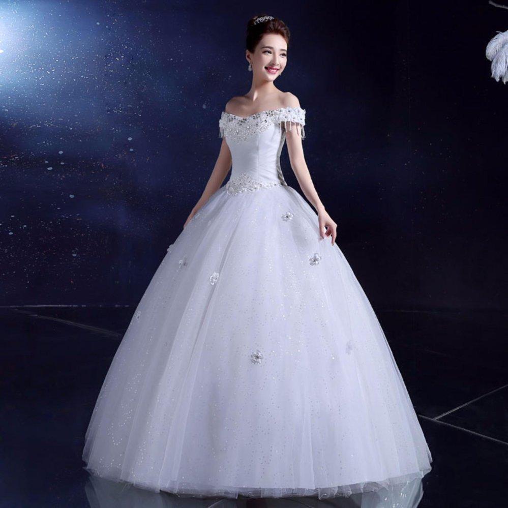 Daftar Harga Gaun Pengantin Putih Wedding Gown Wedding Dress 2016 Source Slim Waist .