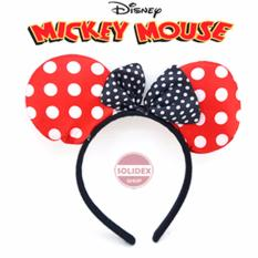 Solidex Bando Mickey Mouse Polkadot Bandana Minnie Mouse