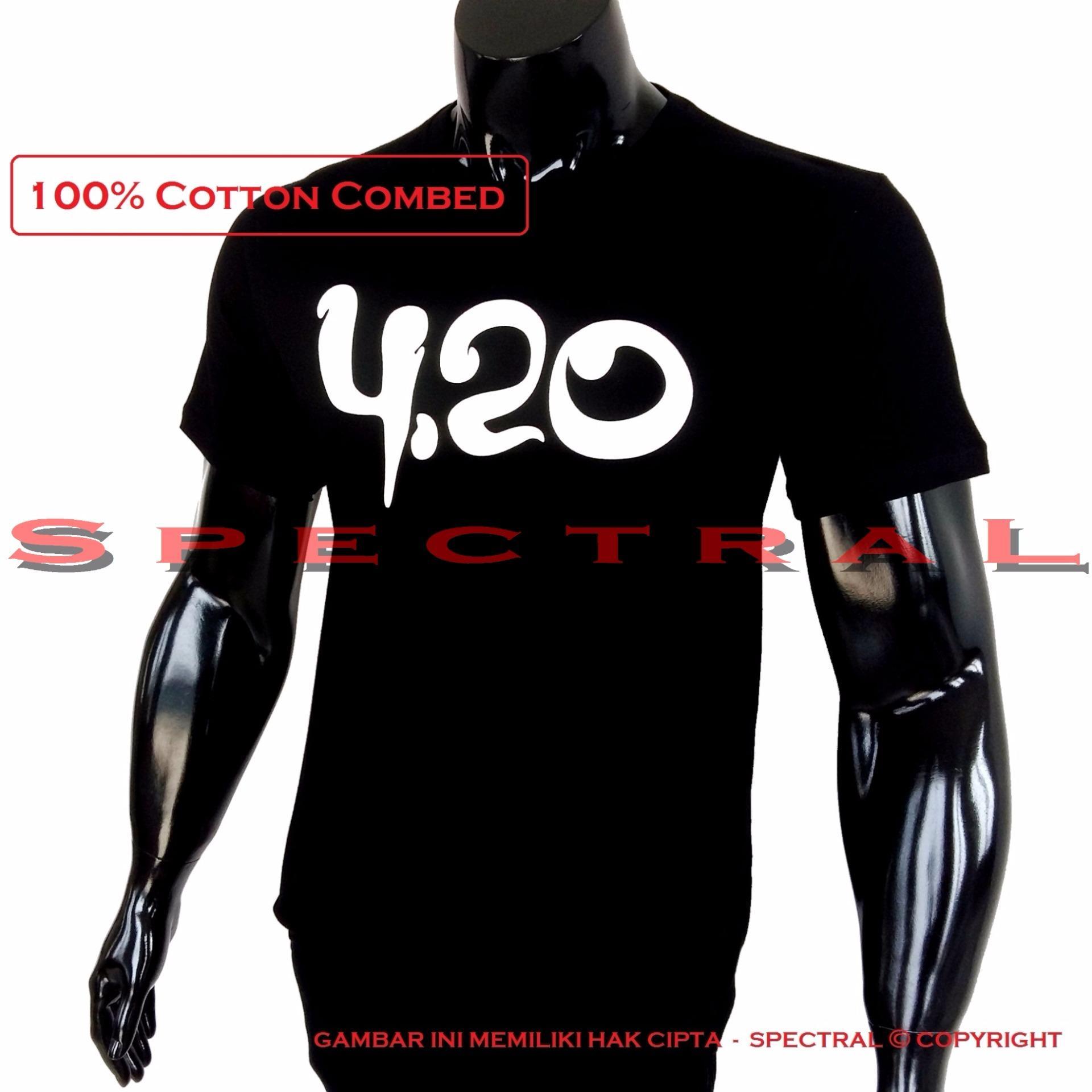 Spectral Kaos Distro T Shirt Fashion 100 Soft Cotton Combed 30s