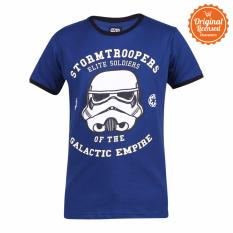 Star Wars Rogue One Stormtrooper Galactic Empire Tshirt Navy