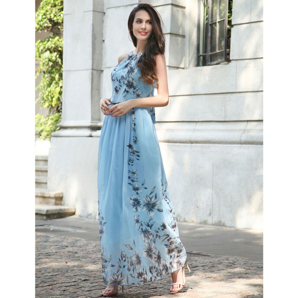 Cari Bandingkan Summer Style Women New Fashion Long Maxi Dress O ...