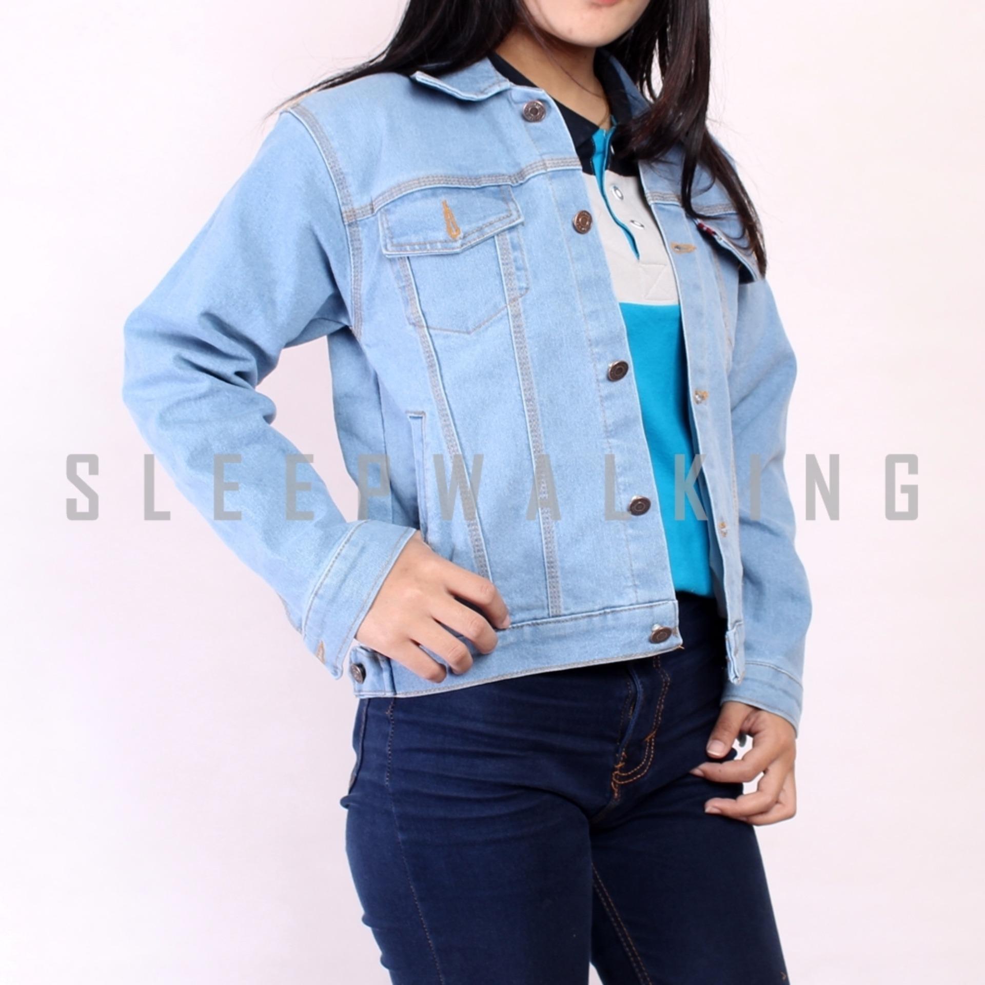 Pelacakan Harga Sw Jaket Jeans Wanita Bioblitz Termurah Cewe