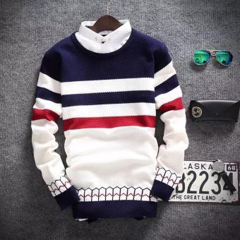 sweater Rajut Pria Alaska Tribal