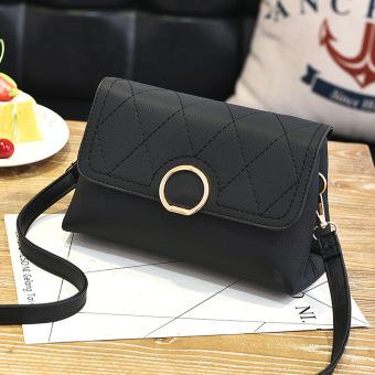 Taobao ledakan model Messenger bahu tas tas tas (Hitam)