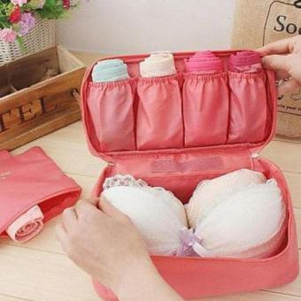 Detail Gambar Tas Bag Pouch Underware Organizer - BAG-TBGUO - Biru Terbaru