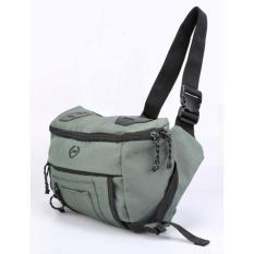 Tas Pinggang Waist Bag Pria Cowok Cowo Warna Hijau ZN 020 CZ