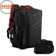 Tas Ransel Palazzo 3in1 34685-17 Multifungsi Original - Black