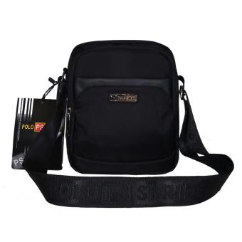Tas Selempang Ipad 10 Inchi Polo Strike 703-09 Polyester Nylon - Black