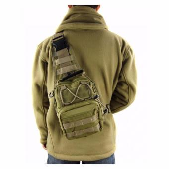 Tas Selempang Outdoor Military Tactical Duffel Backpack Bodypack Pria Men  Sling Bags Tas . e3832156d7