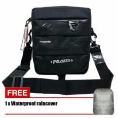Tas Selempang Palazzo 39285-10 Simple Original - Black + Raincover