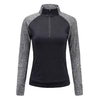 Kira Sports Tanktop Baju Atasan Senam wanita / Tanktop Baju Atasan Olahraga Wanita NAT506-Blk