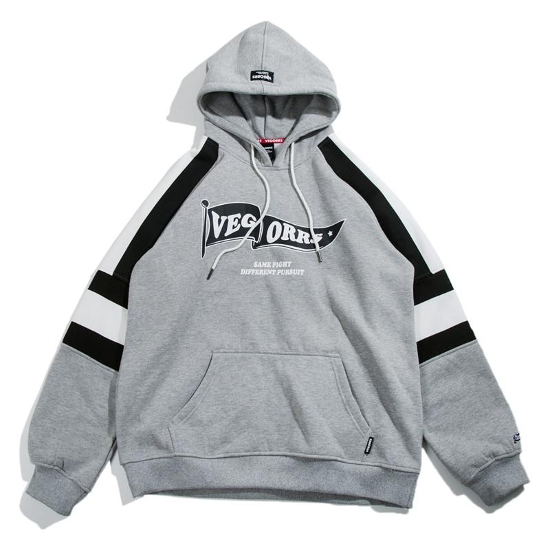 Flash Sale Tide merek di Eropa dan Amerika untuk pria dan wanita berkerudung sweater hoodie (