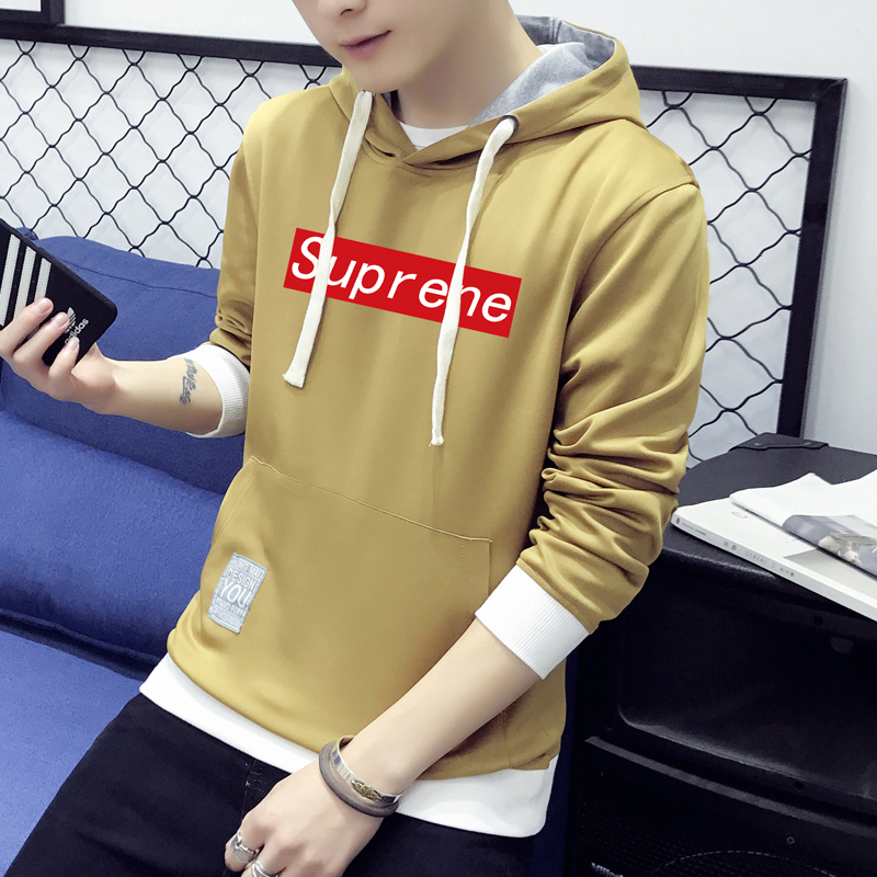 ... Flash Sale Tide merek Korea Fashion Style laki laki berkerudung siswa pullover sweater hoodie
