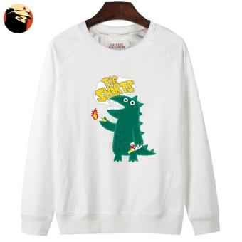 Harga Termurah Tide merek Korea pria pullover leher bulat pullover pria sweater (Leher bulat sweater