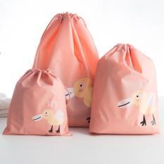 TOKO49 Tas Serut Serbaguna Untuk Travel Anti Air Motif Hewan - Bebek