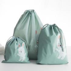 TOKO49 Tas Serut Serbaguna Untuk Travel Anti Air Motif Hewan - Kelinci