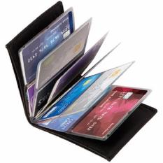 Tope Dompet Kartu Kredit dan ATM Wonder Wallet - Hitam