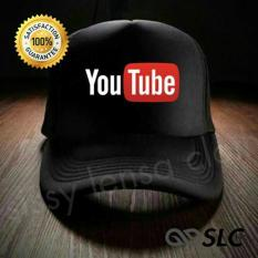 Topi Jaring Trucker Youtube - Slc - Wcj68g