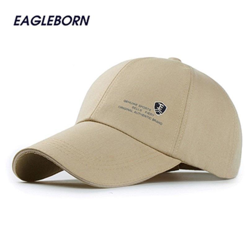 Flash Sale Topi lari katun snapback logo pelindung huruf sport asli baseball  kasual untuk pria (Beige) - intl b9076c420a