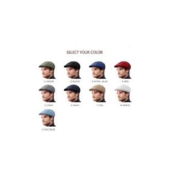 Topi pet / topi pelukis / topi copet / newsboy - 2