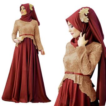 Trend Baju - Maxi Jersey Kaos Florencia Uk L - Coklat