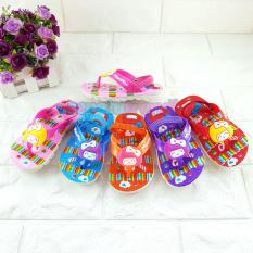 Trendi Sandal Karet Anak Bayi Perempuan Warna Dikirim RANDOM Acak JPTBNK
