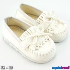 TrendiShoes Sepatu Anak Bayi Perempuan Pita Elegan JVNRJT - Putih