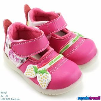 TrendiShoes Sepatu Anak Bayi Perempuan Variasi Berry UDXB02 -Fuchsia