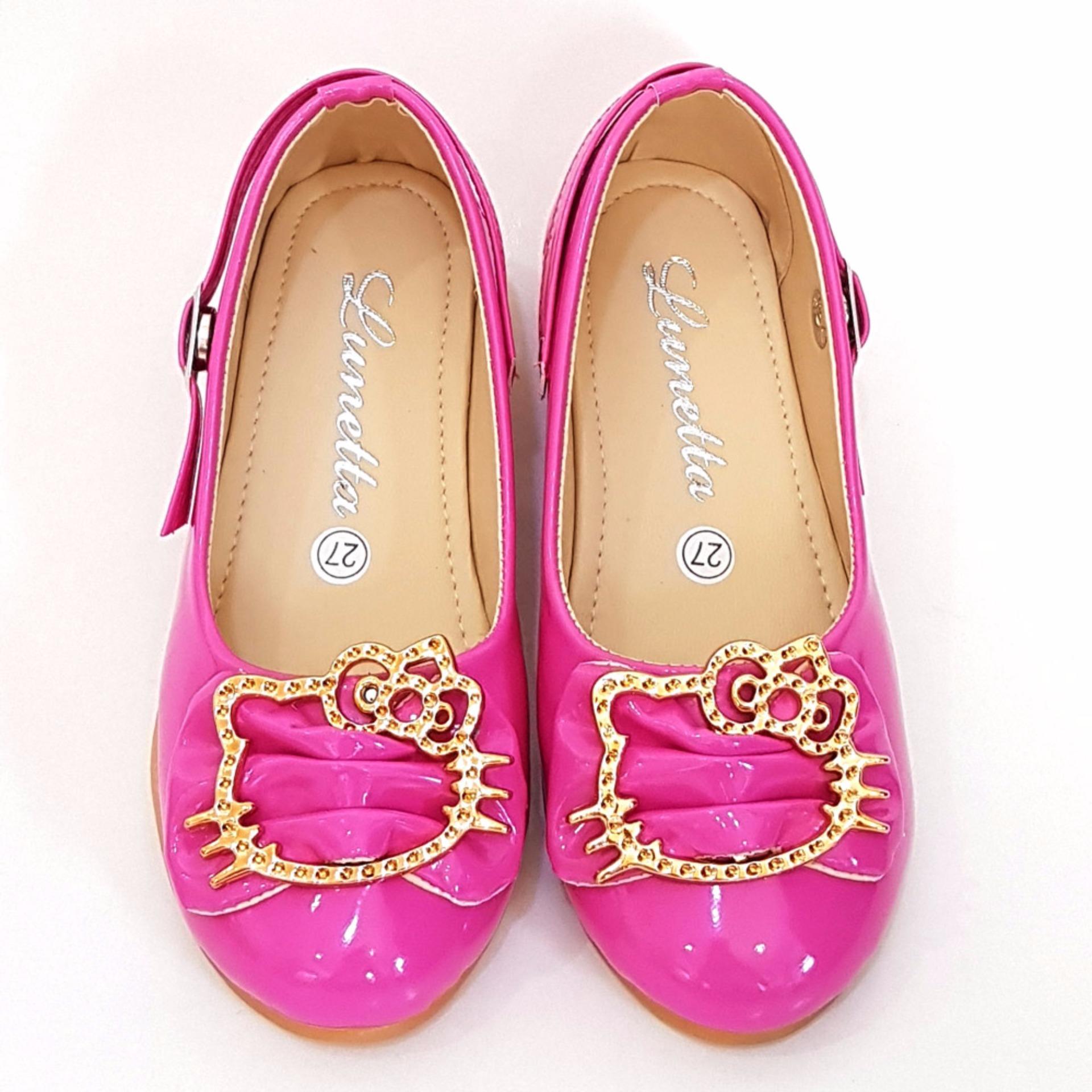 TrendiShoes Sepatu Anak Perempuan Cantik LNHK - Fuchsia .