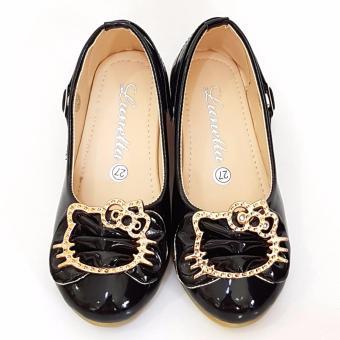 Detail Gambar TrendiShoes Sepatu Anak Perempuan Cantik LNHK - Hitam dan Variasi Modelnya