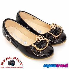 TrendiShoes Sepatu Anak Perempuan Cantik LNHK - Hitam
