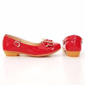 ... TrendiShoes Sepatu Anak Perempuan Cantik LNHK - Merah - 3