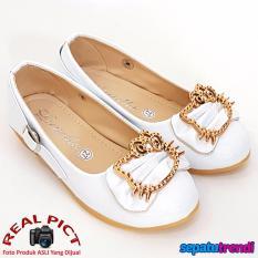 TrendiShoes Sepatu Anak Perempuan Cantik LNHK - Putih